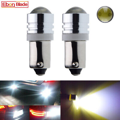 AU5.69 • Buy 2Pcs BAX9S H6W Car LED Interior Light Indicator Side Parker Globe Bulb 12V White