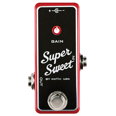 Xotic Effects SSB Super Sweet Booster Boost Effects Pedal • 71.38£
