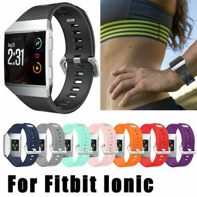 $ CDN6.58 • Buy Replacement Silicone Rubber Classic Band Strap Wristband For Fitbit Ionic Watch
