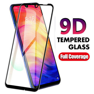 $1.49 • Buy For Xiaomi Redmi Note 7 9D Curved Full Cover Tempered Glass Screen Protector 2h
