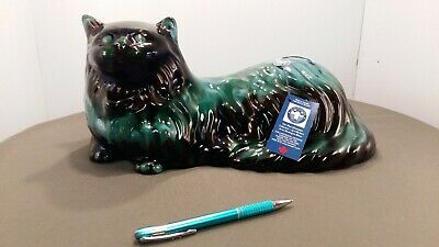 $ CDN21.99 • Buy Blue Mountain Pottery 15  Laying Cat W/label And Tag