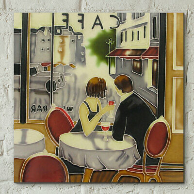 £22.95 • Buy Ceramic Picture Tile  AFTER HOURS  By Brent Heighton Wall Art 8  X 8