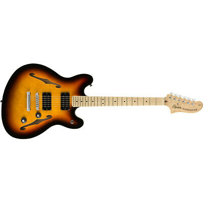 $299.99 • Buy Squier By Fender Affinity Series Starcaster Guitar, Maple Board, 3-Color Burst