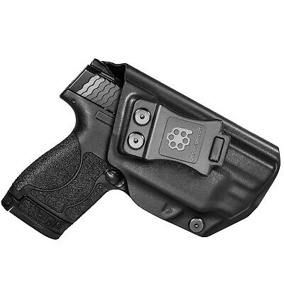 $21.59 • Buy Amberide IWB KYDEX Holster Fit: S&W M&P Shield 9mm/.40 With Integrated CT Laser