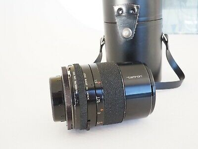 AU145 • Buy  Tamron 135mm F2.8 Lens M42 Screw Mount With Hard Case And Hood GREAT CONDITION