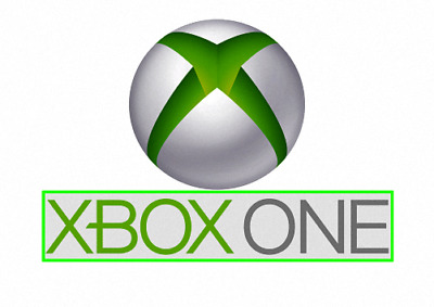 Xbox One Logo And Wording  Vinyl Wall Sticker Various Sizes • 4.99£