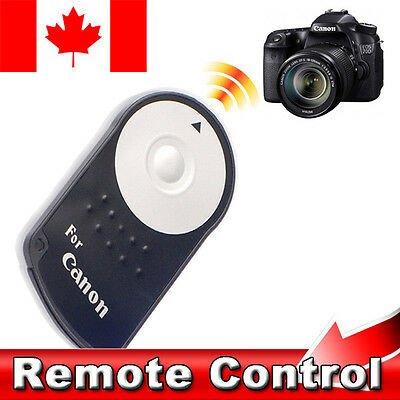 IR Wireless Remote Control RC-6 Shutter For Canon EOS 500D 550D 600D 650D & More • 4.28£