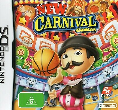 AU14.95 • Buy New Carnival Games Nintendo DS / DSi / 3DS Brand New Over 25 Games