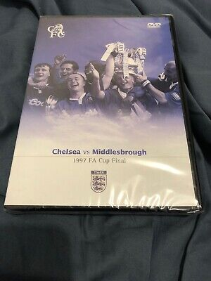 FA Cup Final 1997: Chelsea Vs Middlesbrough (DVD, 2005)-REGION 2 - NEW/SEALED • 14.91£