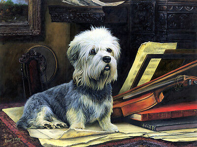 Dandie Dinmont Limited Edition Print By Robert May • 37.50£