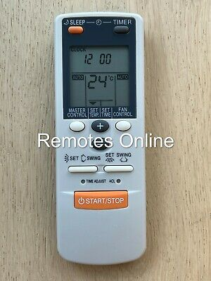 AU14.90 • Buy Fujitsu Air Conditioner Replacement Remote Control AR-DL1 HEAT & COOL NEW