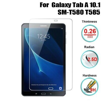Screen Protector Tempered Glass Tablet For Samsung Galaxy Tab A 10.1 T580 T585 • 3.75£