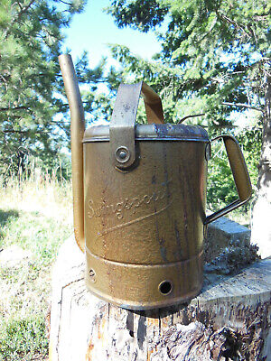 $ CDN59.70 • Buy Old 5 Quart SWINGSPOUT Swing Arm Metal Oil Can - Service Station Gas Advertising