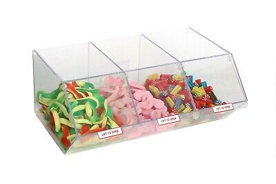 Pick N Mix Sweet Dispenser For Unwrapped Sweets Food Nuts Display OW9712 • 6£