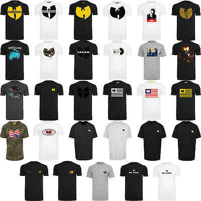 $ CDN28.68 • Buy Wu Wear Herren T-Shirt Print Muster Thema Wu-Wear Logo T-Shirt