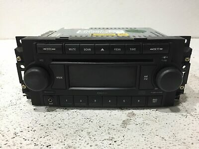 $89.95 • Buy 05 06 07 Jeep Commander Grand Cherokee Radio Stereo 1cd W Aux P05064173AI ID REF