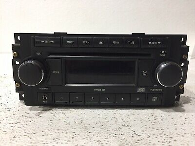 $89.95 • Buy 05 06 07 Jeep Commander Grand Cherokee Radio Stereo 1cd W Aux P05064171AG ID REF
