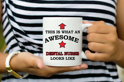 Best Gift For Dental Nurse Awesome Dental Nurse Looks Like Coffee Mug  • 6.99£