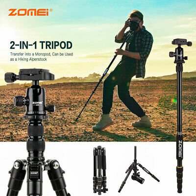 AU63.91 • Buy ZOMEI Aluminum Portable Tripod With Ball Head Heavy Duty Lightweight For DSLR