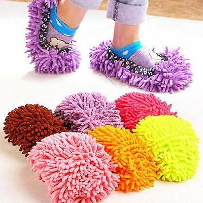 £2.48 • Buy 1PC/1Pair Home Slipper Dust Mop Clean Shoes Cleaning Towel Floor Cleaning Tool