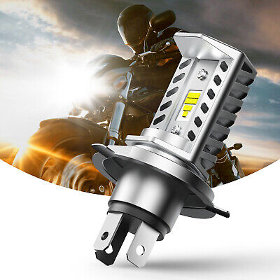 $17.65 • Buy 1X AUXITO H4 9003 LED Bulbs High Low Beam Motorcycle Headlight Kit Bright White
