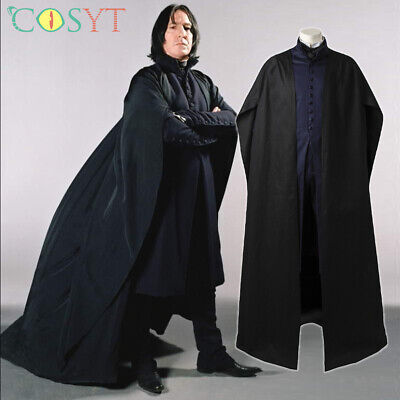 $ CDN136.84 • Buy Severus Snape Professor Outfits Harry James Potter Cosplay Props Costume
