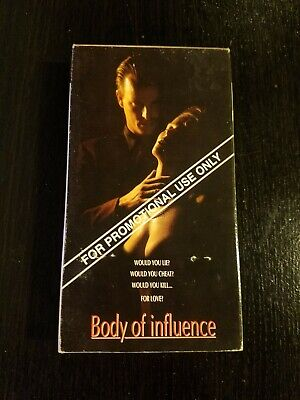 $ CDN14.53 • Buy Body Of Influence VHS Promotional Screener Nick Cassavettes & Shannon Whirry