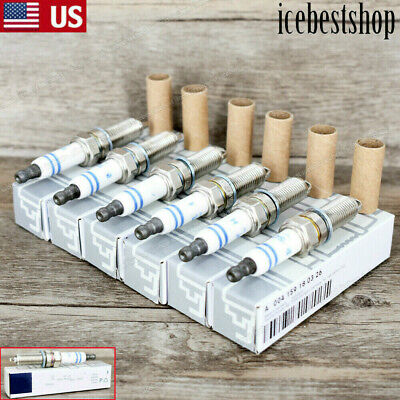 6PCS OEM Bosch For Mercedes Benz Double Platinum Spark Plugs GERMANY YR7MPP33 US • 26.45$