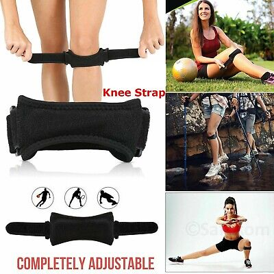 Adjustable Patella Tendon Strap Knee Support Jumpers Runners Pain Band Brace UK • 2.96£