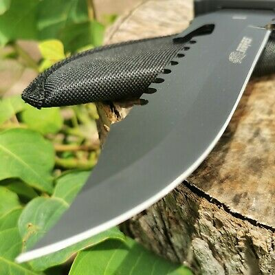 AU20.95 • Buy Camping Hunting Knife Survival Knife Military Tactical Sharp Pig Sticker AUstock