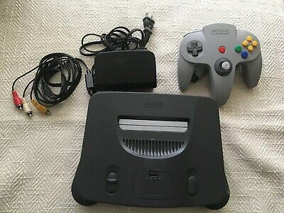 $ CDN136.23 • Buy Nintendo 64 N64 Game Console System + Controller Cords WORKING Play US & Japan