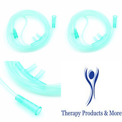 4 Pc Adult Soft Nasal Oxygen Cannula Tubing For Oxygen Concentrator Sealed Pkg • 10.73£