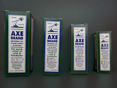 $5.99 • Buy Singapore AXE Brand Universal Oil Cold Headache Stomachache Insect Bites F/ship