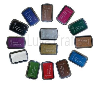Dovecraft Premium Pigment Ink Pad Non-Toxic Acid Free - Choice Of Colours • 2.29£