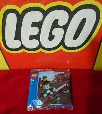 Lego Sports  SKATEBOARDER  5015 Rare Promo Exclusive 2003 Factory Sealed Polybag • 8£