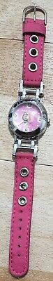 Paul Frank Watch W/ Pink Band (Needs Battery). Stainless Steel Monkey • 7.34£