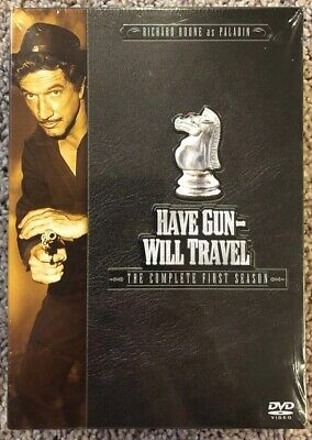 $12.99 • Buy Have Gun Will Travel - The Complete First Season (DVD, 2004, 6-Disc Set) New!!!