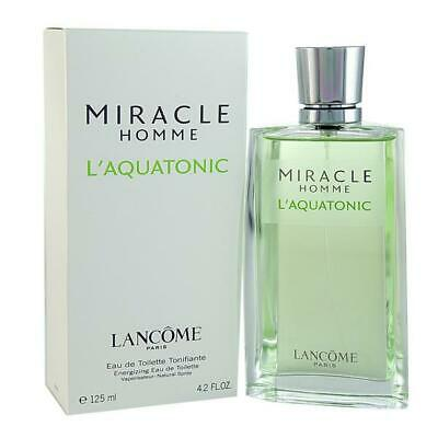 Lancome Miracle Homme L'aquatonic - 125 Ml / 4.2 Fl. Oz. - Batch Code Uy106 • 86.09£