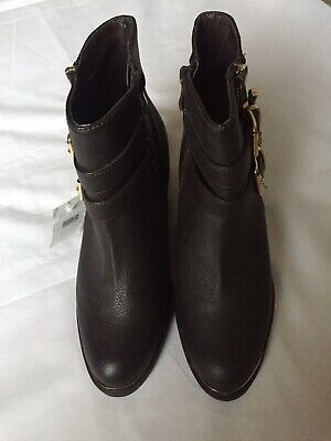 """Size 4 Womens Ladies """"London Rebel"""" Heeled Boots  Black Size 4 New. • 9.99£"""