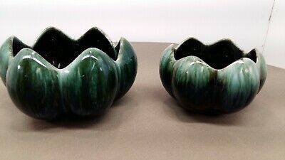 $ CDN15.99 • Buy Blue Mountain Pottery Pair Of Lotus Bowls Mold# 008