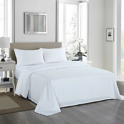 AU39.95 • Buy Royal Comfort 1200 Thread Count Sheet Set 4 Piece Ultra Soft Satin Weave Finish