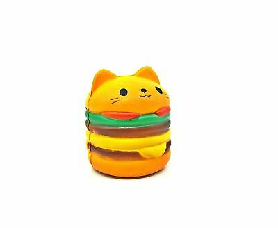 AU5.99 • Buy Cat Burger Squishy Jumbo Squishies Scented Charms Soft Toy Penguin Fries Cute An