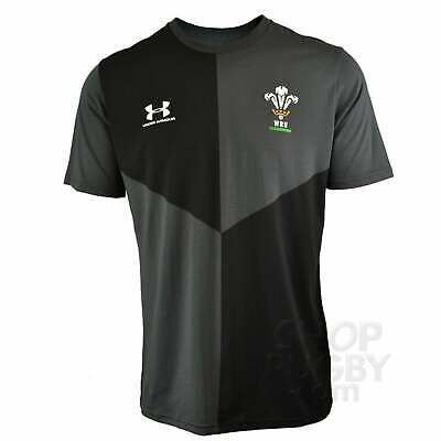 Under Armour Wales Rugby Graphic T-shirt 2019-2020 - Jet • 23.95£