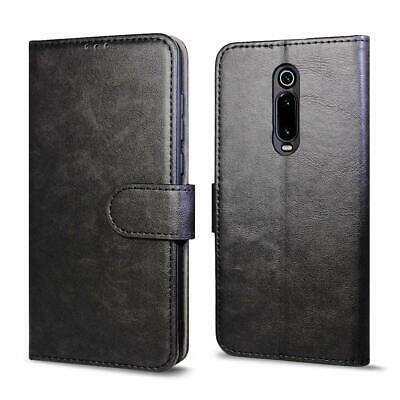 $10.99 • Buy For Xiaomi Mi 9T, Faux Leather Wallet Flip Case Cover With Card Money Slots