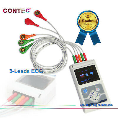 £230 • Buy ECG/EKG Holter Monitor Dynamic 3-channel 24h Record System Software Analysis TLC