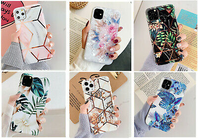 AU8.98 • Buy F IPhone 11 Pro Max XS XR Shockproof Leaves Flowers Cute Girls Phone Cover Case