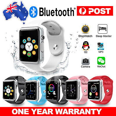 AU27.95 • Buy 2020 A1 Bluetooth Smart Watch Wristwatch For Android Phone Intelligent Men Women