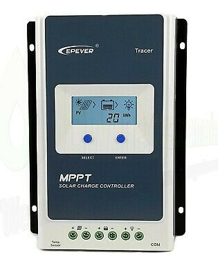 20A EPEver MPPT 60v Solar Charge Controller Ultra Fast Power EPSolar Tracking • 69.99£