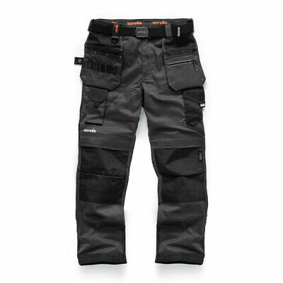 Scruffs Pro Flex Trousers With Holster Pockets Graphite Grey (Various Sizes) • 53.55£