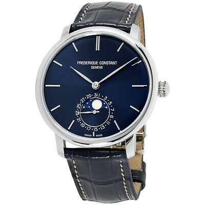 $1245.50 • Buy Frederique Constant Manufacture Automatic Movement NavyDial Mens Watch FC705N4S6